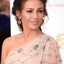 Spotted! Michelle Keegan at the BAFTAs