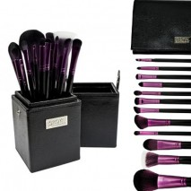 Black and Purple 12 PC Set