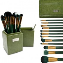 Dark Green and Gold 12 PC Set
