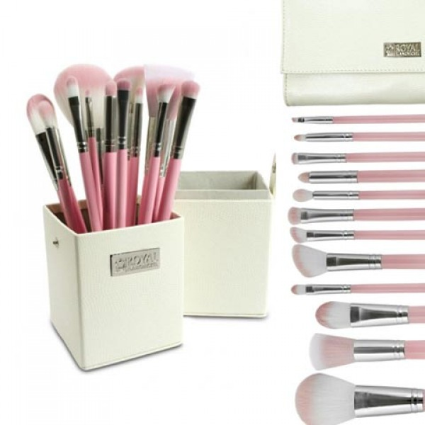 Baby Pink and Silver 12 PC Set