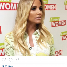Spotted! Katie Price Wears Lashes from Us On Loose Women